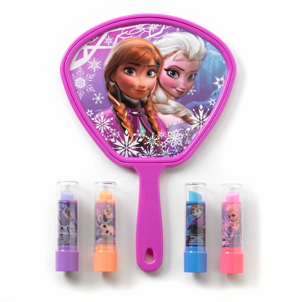 Disney Frozen Lip Shine &Amp; Mirror Set - Girls