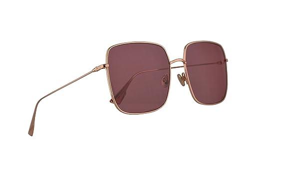 da45b7e929ca Amazon.com  Christian Dior DiorStellaire1 Sunglasses Gold Copper w ...