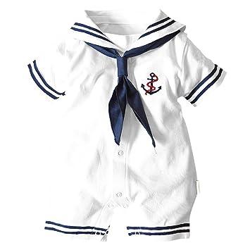 gqmart bebé Pelele ropa de verano, recién nacido, Baby Boy ropa, azul marino