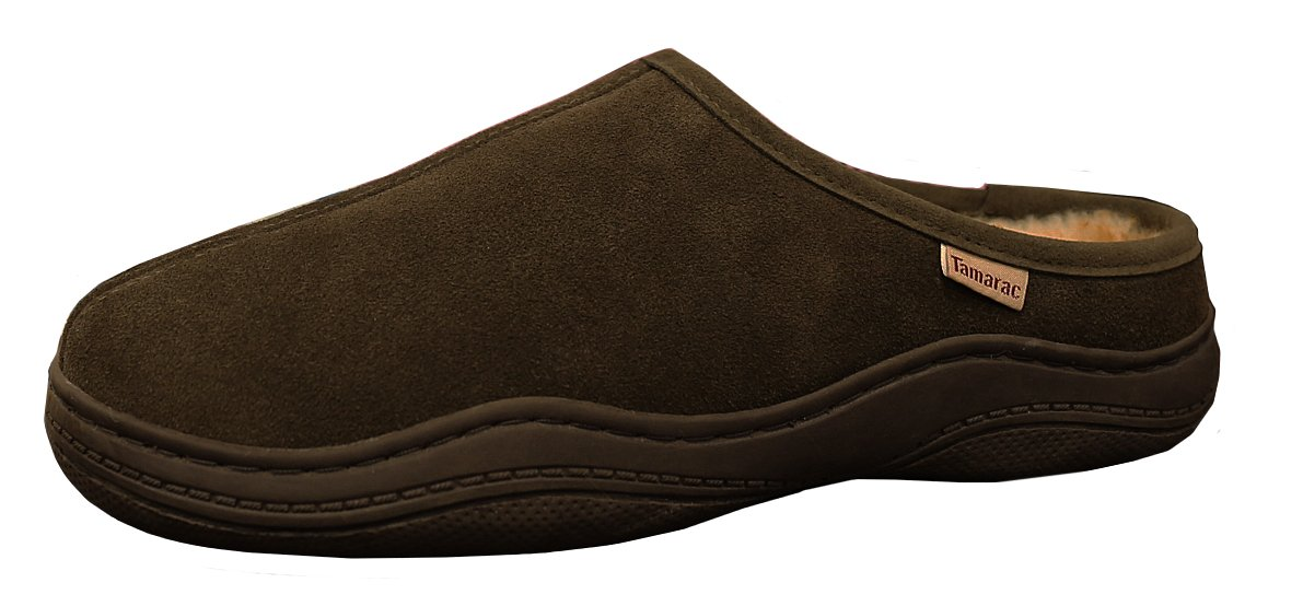 Tamarac by Slippers International Men's Scuffy Clog Slipper (9 D(M) US, Birch) by Tamarac by Slippers International