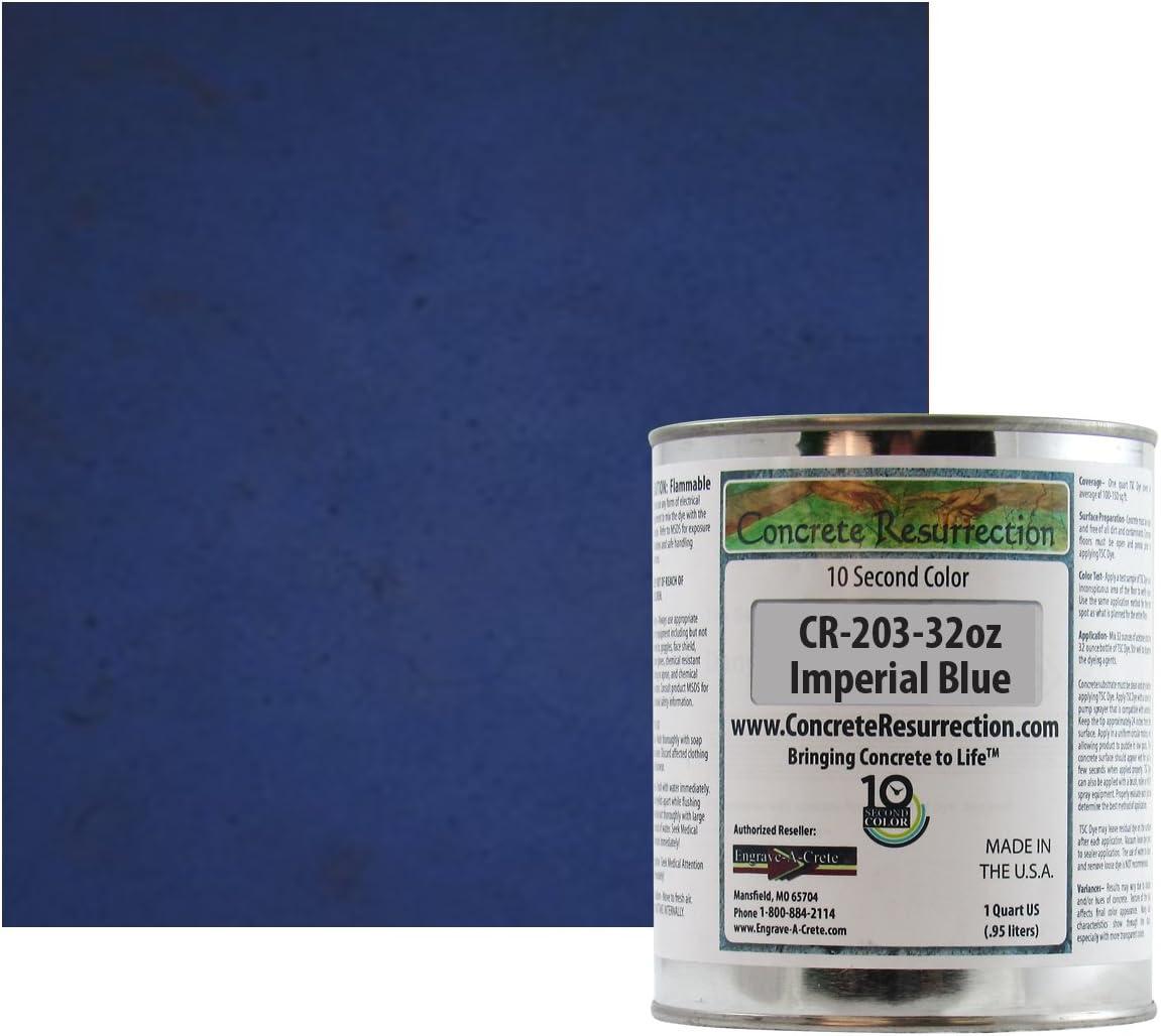 Ten Second Color (TSC) - Tinte concentrado para hormigón Grado profesional y fácil de usar. Colores brillantes y llamativos. Tinte de cemento ...