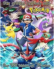 Największa kolorowanka z Pokémon, ponad 400 Pokémon na 70 stronach