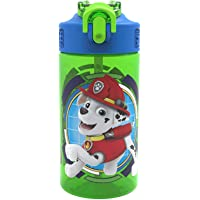 Zak Designs PWPLT120 16 Oz Paw Patrol Water Bottles (Rocky Rubble & Chase)