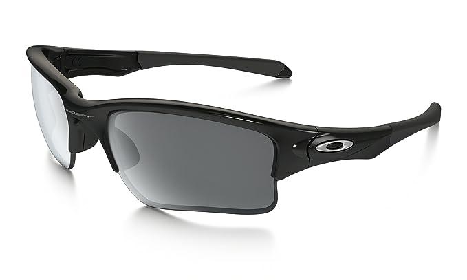 5ef8d62c195 Amazon.com  Oakley Quarter Jacket (Youth Fit) Sunglasses Pol BLK BLK ...