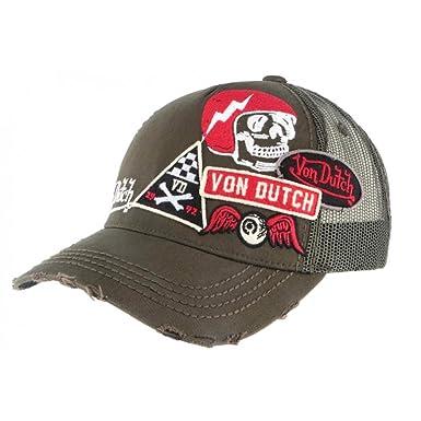 Von Dutch - Gorra de béisbol - para Hombre Caqui Talla única: Amazon.es: Ropa y accesorios