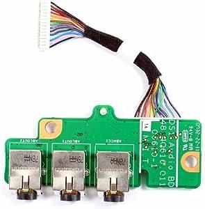 Dell XPS M1730 Audio Port IO Circuit Board JR084