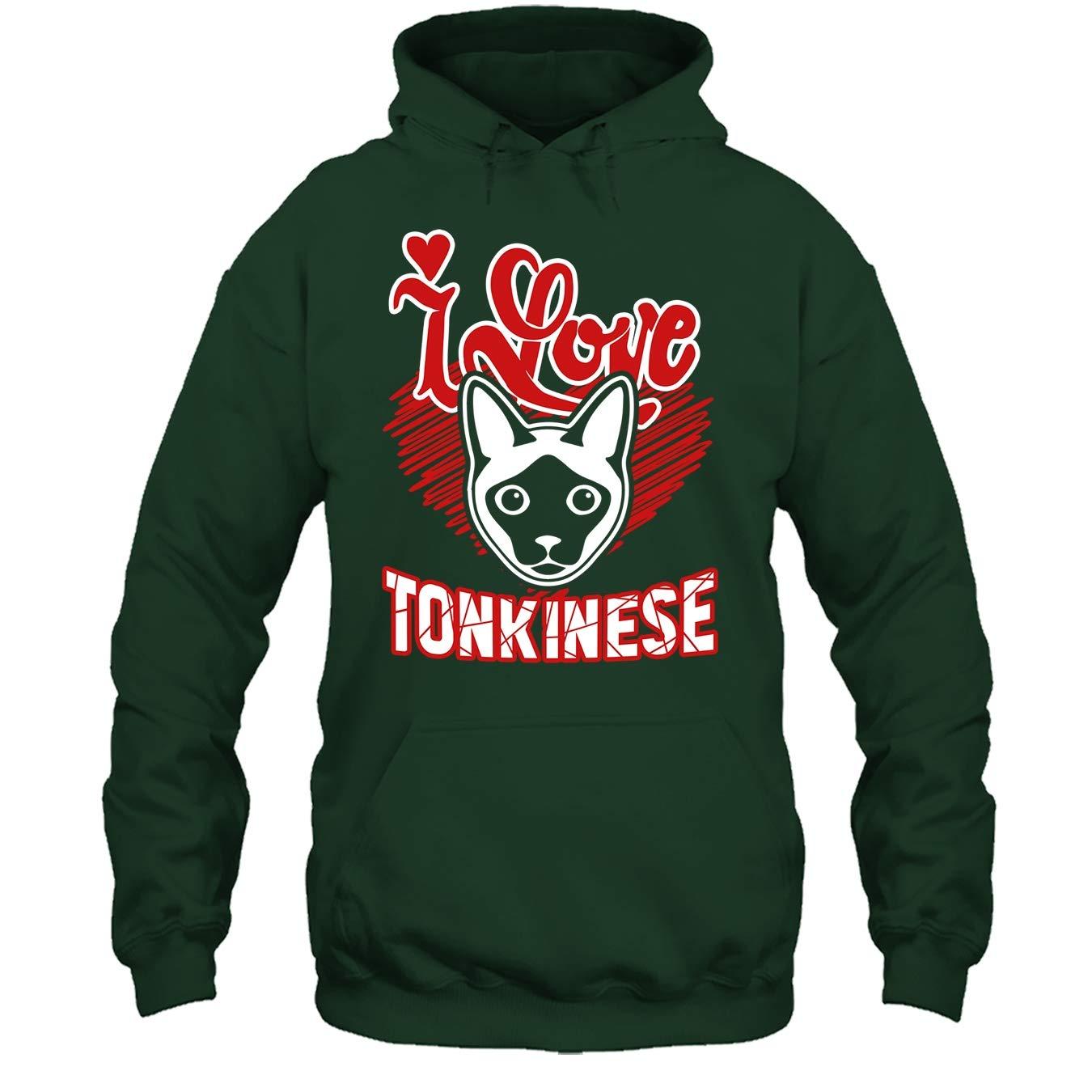 Tonkinese Tshirt Design I Love Tonkinese Cat T Shirt