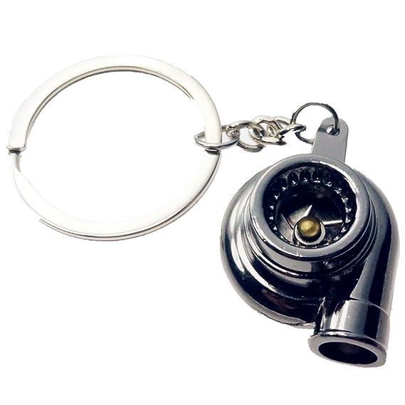Amazon.com: BR Turbo Alloy Keychain Car Key Chain Ring Holder Gun: Automotive