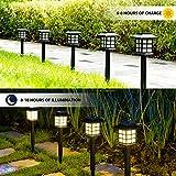 Solpex Solar Garden Lights,12 Pack Solar Path