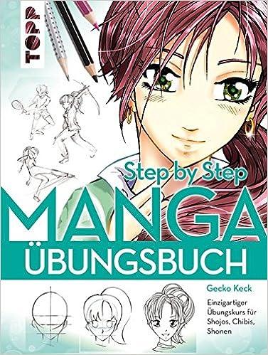 Manga und Anime Zeichenbuch Übungsbuch