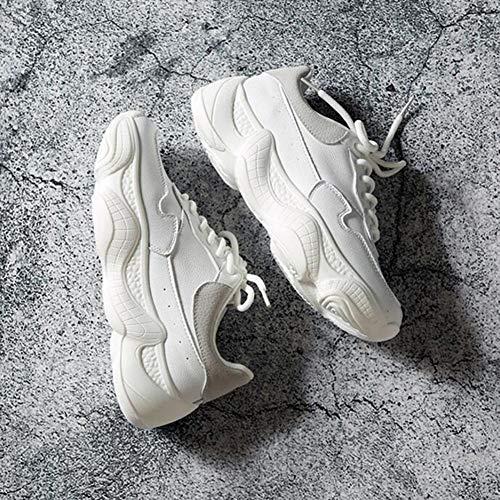 uk3 Harajuku couleur cn35 Sport Old Eu36 5 Size White Wild Shoes Fh Chaussures Blanches De Petites w8OqnFRUA