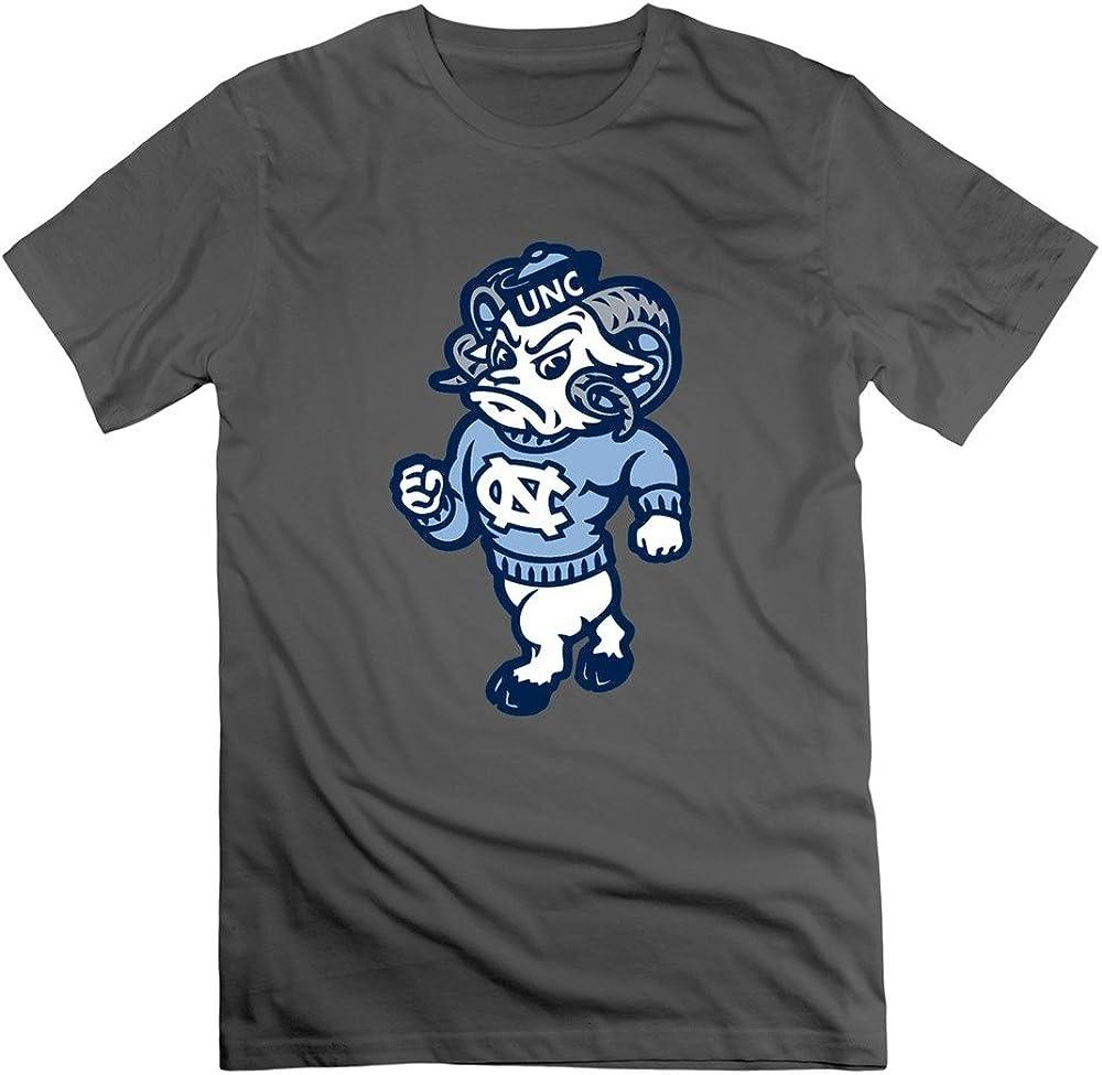 Hombre North Carolina Tar Heels Logo Crew Neck t Camiseta XXXXL Deep Heather XL: Amazon.es: Ropa y accesorios