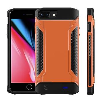 Funda Bateria iPhone 6 Plus/ 6s Plus/ 7 Plus/ 8 Plus, 5000mAh Carcasa Bateria [Ultra Thin] Externa Recargable Portatil Protector Cargador Power Bank ...