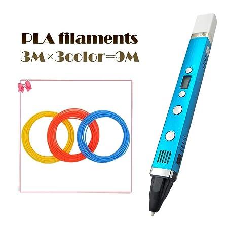JFCUICAN Impresora 3D Pluma de Tres Generaciones 3D USB Interfaz ...