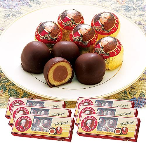 ハインドル(HEINDL)モーツァルト チョコレート 6箱セット【オーストリア おみやげ(お土産) 輸入食品 スイーツ】