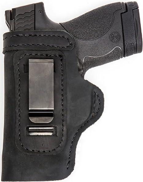 Pro Carry LT RH LH OWB IWB Leather Gun Holster For Hi-Point 9c