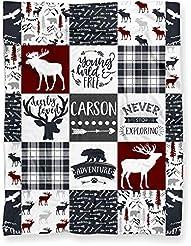 Personalized Woodland Deer Moose Elk Adv...