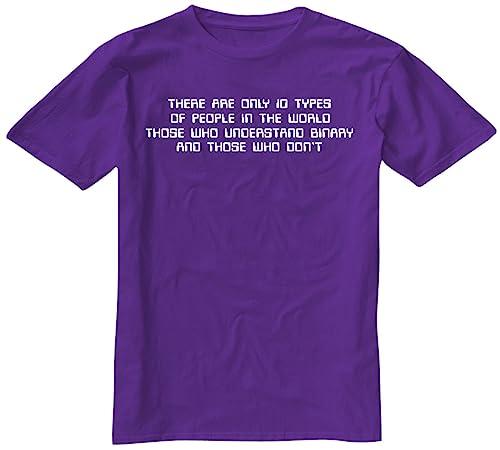 Tshirt Hub A Las imágenes física Science Binario de Regalo The Dragons Den T-diseño de Camiseta de d...