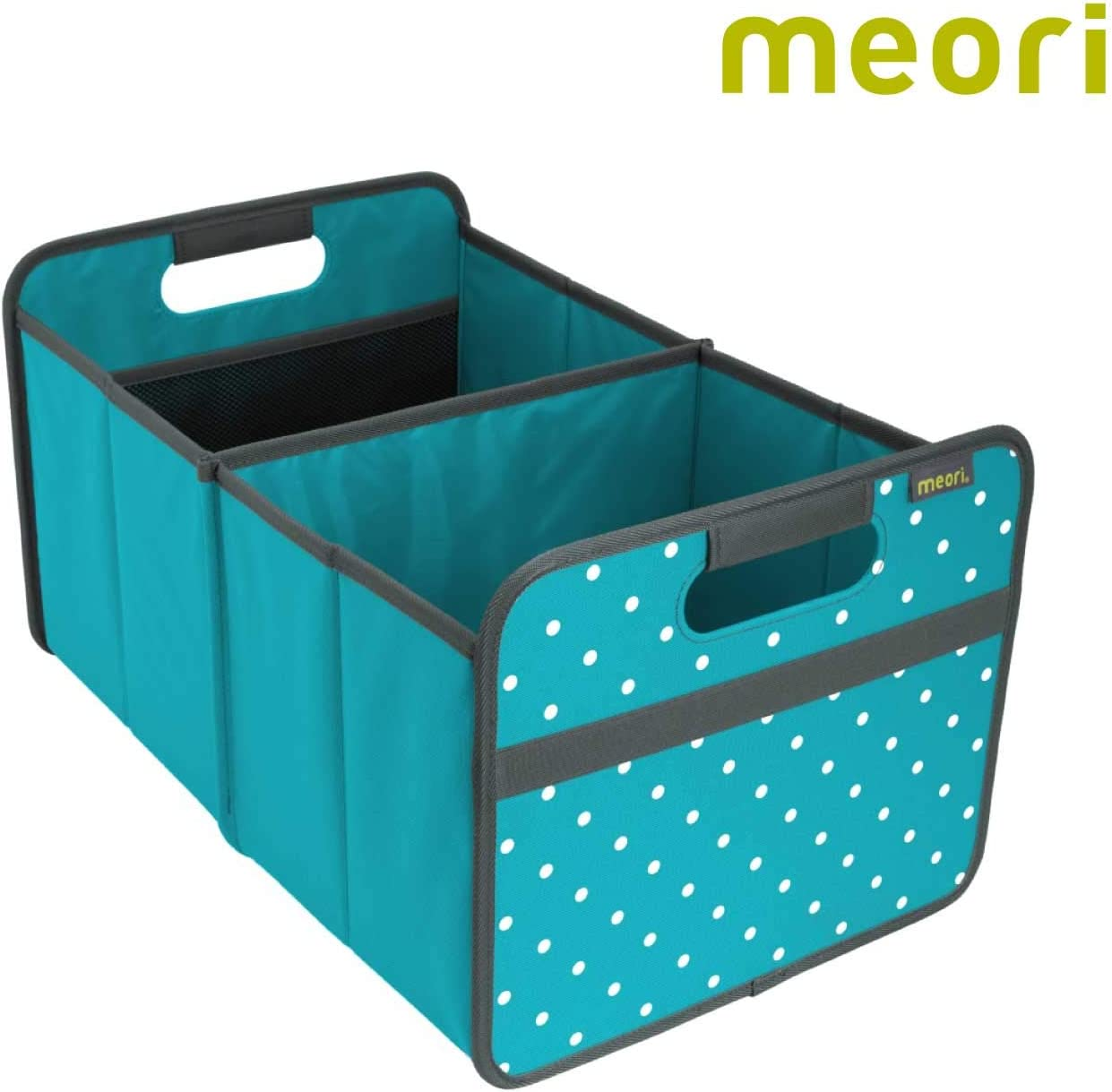 Amazon Com Meori Azure Blue Dots Foldable Box Classic Large