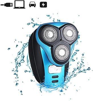 iXpro Rotativa Afeitadora Eléctrica para los hombres Depiladora ...