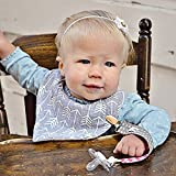 Pacifier Clip Girl (3 Pack) Ziggy Baby 2-Sided Design Pacifier Holder