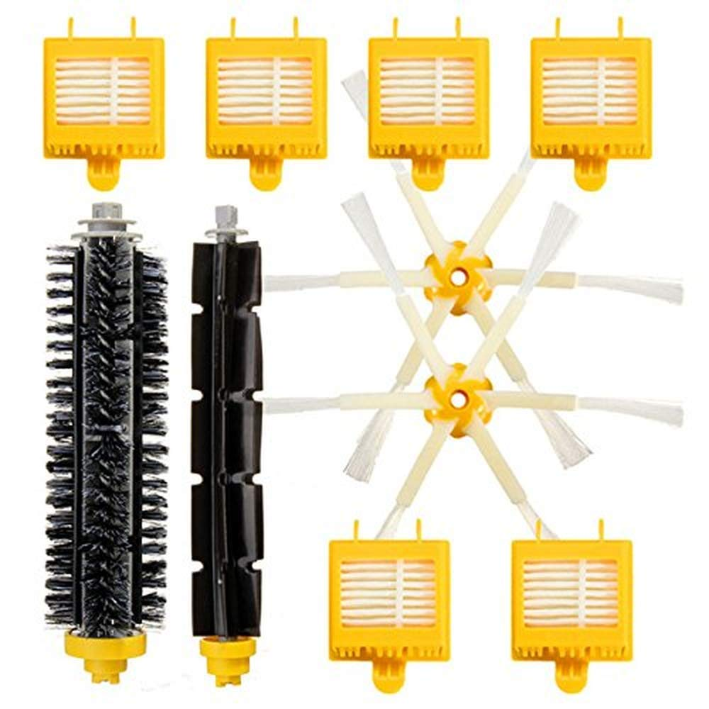 10Pcs Replacement Vacuum Part for iRobot Roomba 700 Series 760 770 780 790 Filters Brush Pack Kit generic