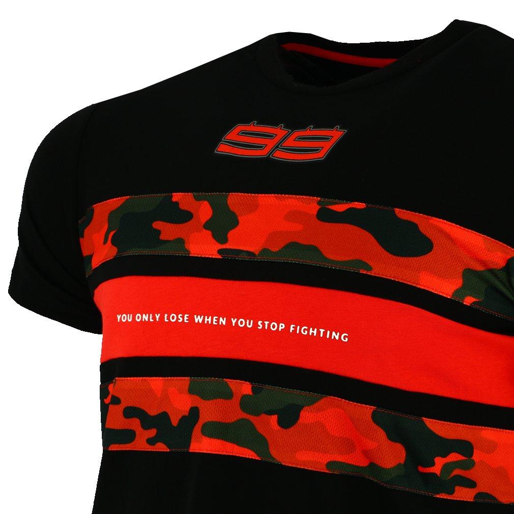 Talla XXL pritelli 1831201//XXL Camiseta Hombre Jorge Lorenzo Camo Stripes 99