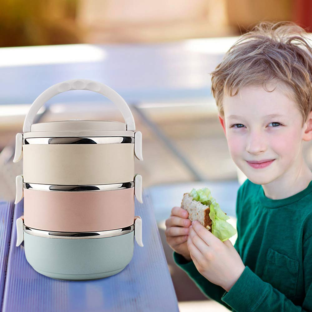 Sealive Twist-Lock Stackable On-the-Go BPA Free Milk Powder Dispenser /& Snack Storage Container No Powder Leakage Baby Milk Powder Formula Dispenser 4 feeds