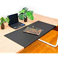 Q&Z Office Mousepad,Laptop Keyboard Pad Desktops Mate with Lip Gaming Mouse Writing Mat Desk Blotter Waterproof Edge Protect Mat for Home Office Table Computer