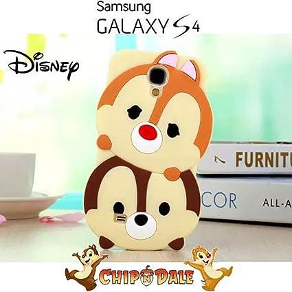 Coque Etui Housse 3D Disney Tsum Tsum Tic et Tac de Silicone Samsung Galaxy  S4 - 97dce02f9c28