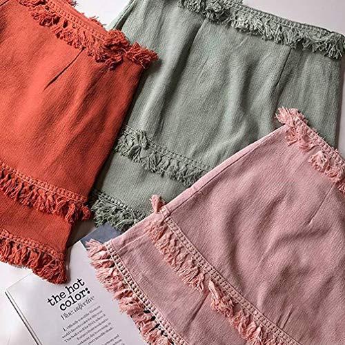 Jupe Mode Mode Couleurs Vert Solide Taille Haute Clair Couleur S Ligne Femmes Jupe Slim 5 Courte Jupe A Jupe Gland Fit Dcontracte Sexy Dames XL B0wqW4ETWg