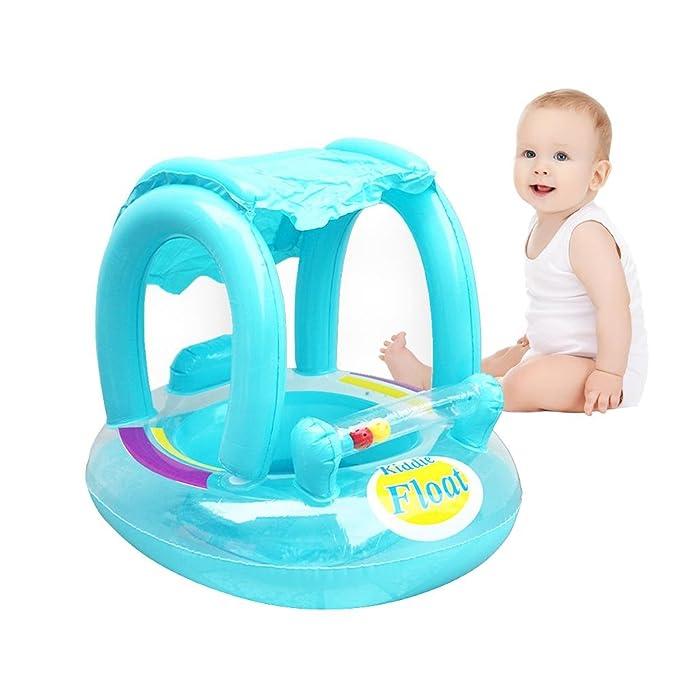 haodene asiento de flotador barco de bebé anillo de piscina ...