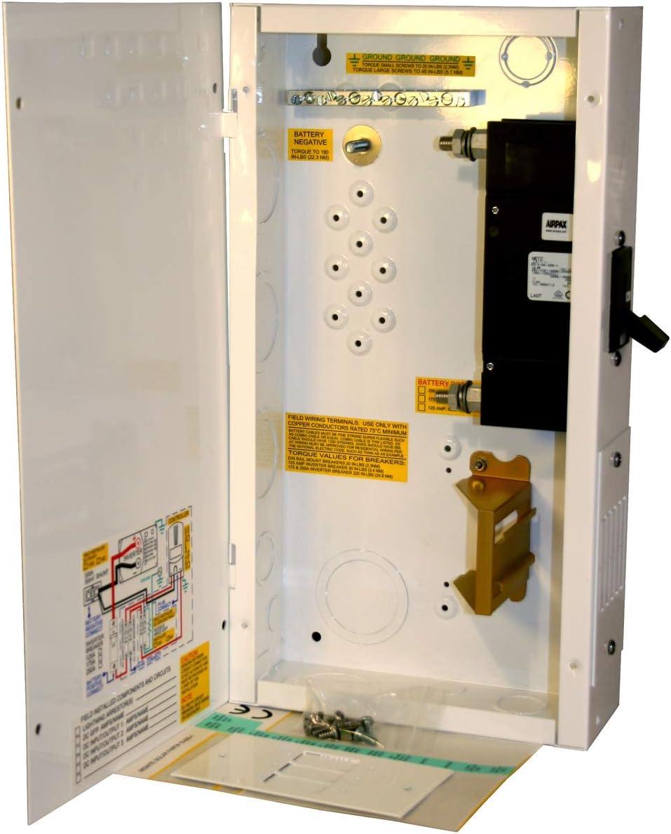 Panel Mount Breaker 175 Amp Midnite Solar 125Vdc