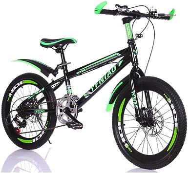 TD Bicicleta para Niños 6-7-8-9-10-11-12 Años Carro De Bebe Niño 20 Pulgadas Estudiante De Primaria Bicicleta Bicicleta De Montaña V0063: Amazon.es: Deportes y aire libre