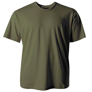 20b2f477e8fc74 Redfield T-Shirt Herren oliv Übergröße