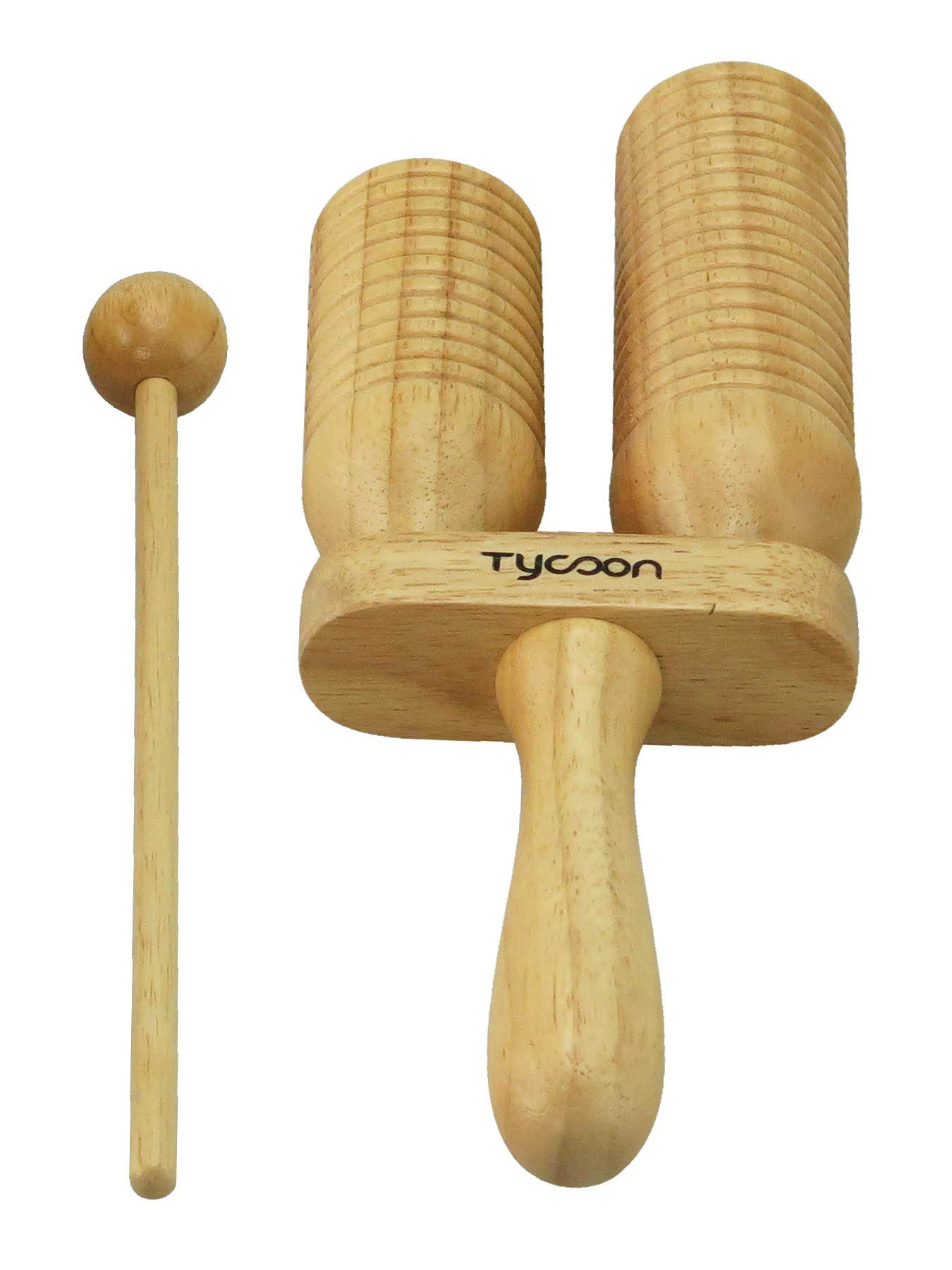 Tycoon Percussion Two Tone Wood Block by Tycoon Percussion