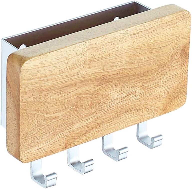 Clic-And-Get Key Box Key Hooks Key Box Key Holder Wall Hook Heart White//Natural