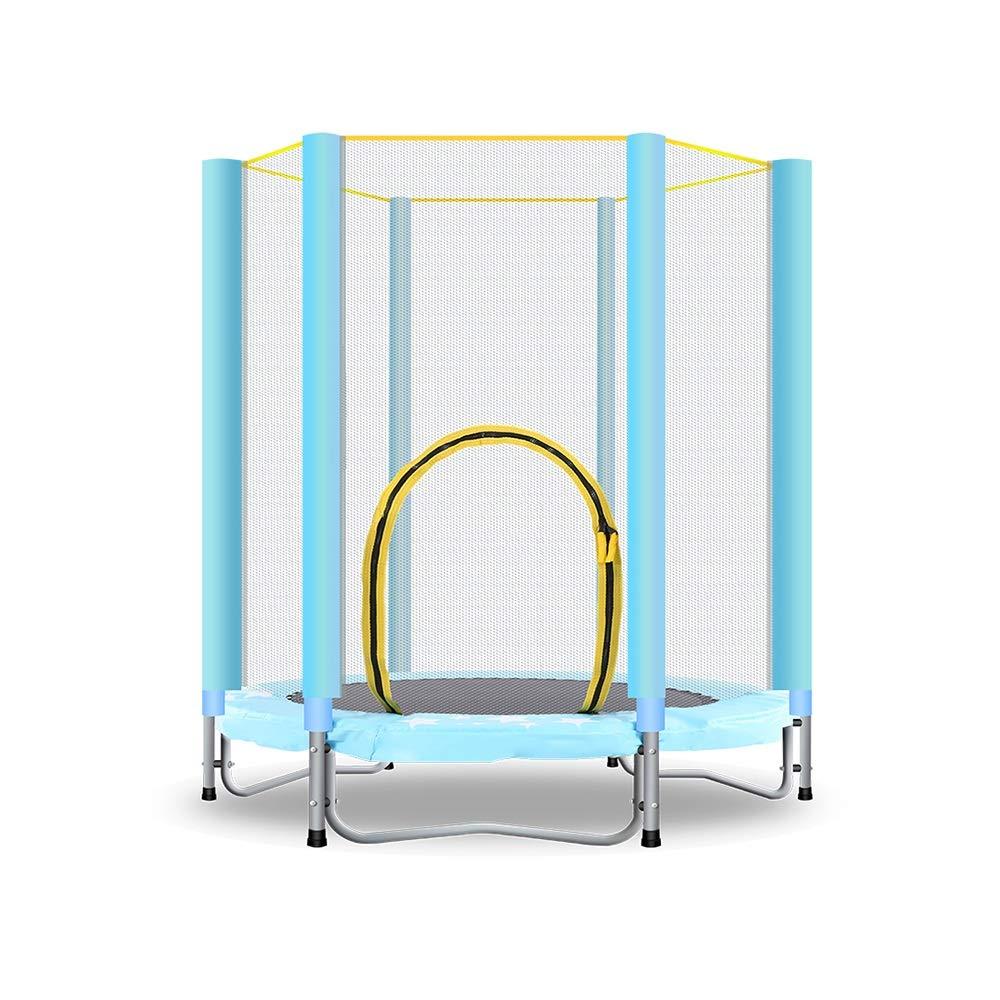 KFXL フィットネストランポリン トランポリン - ウエストドラム春ホーム子供用室内トランポリン折りたたみアッパーバウンストランポリン重量100kgブルー 室内用トランポリン   B07SYY98DD