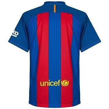 Nike FC Barcelona M SS Hm Vapor Match JSY Camiseta de Manga Corta, Hombre,