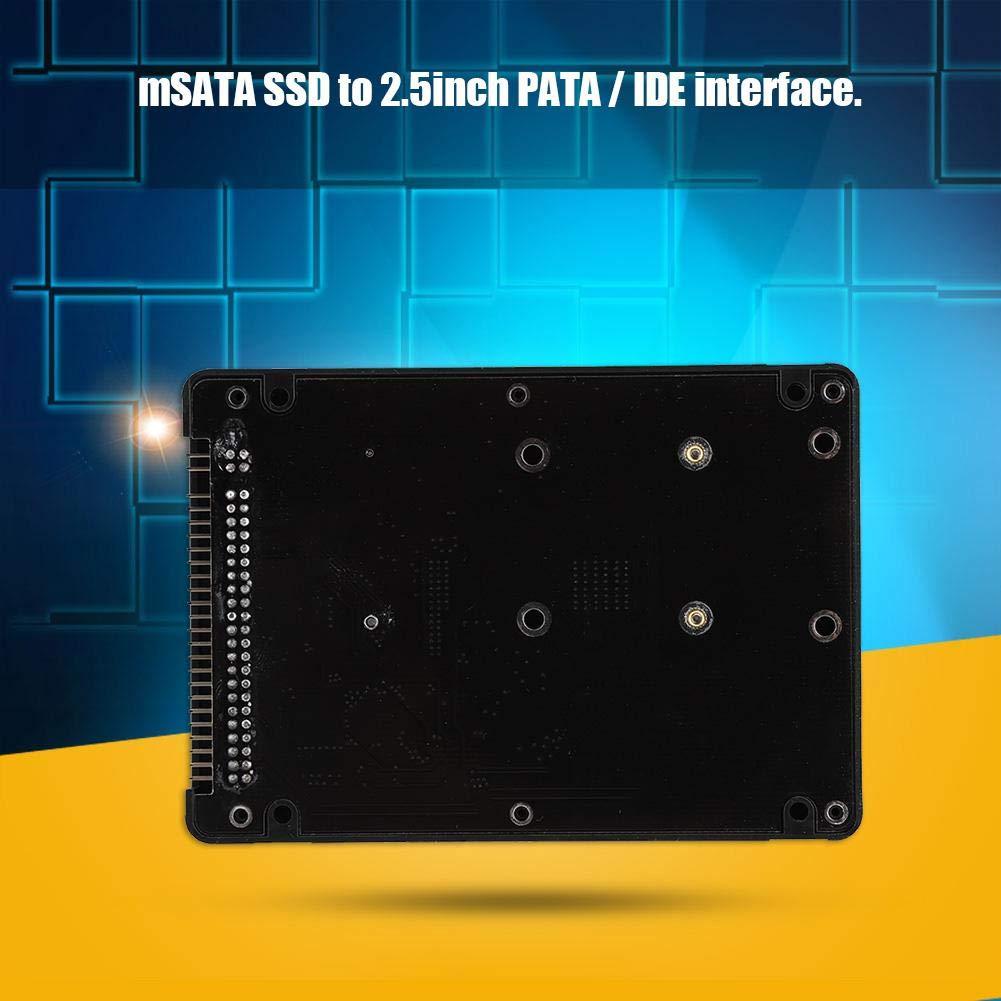 Caja de Disco Duro SSD mSATA a IDE Interfaz Pata/IDE de 2,5 ...