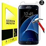 Hycamor [[3-Pack] Samsung Galaxy S7 Protecteur D'écran, Screen Protector pour Écran Galaxy S7 HD en Verre Trempé Protecteur en Verre Trempé Film Protecteur Anti-Rayures pour Galaxy S7 Clair