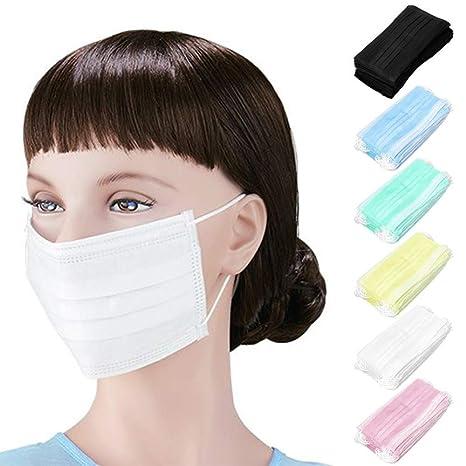 Wave 166│ 50 máscaras médicas Desechables, máscara de Boca ...