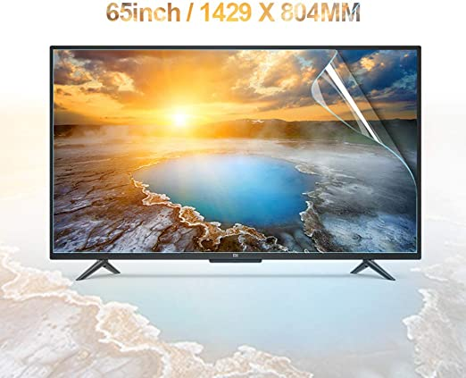 Anti Blue Light Screen Protectors Anti Glare Relieve Screen Filter Relieve Eye Fatigue Ultra-Clear for LCD LED OLED /& QLED 4K HDTV,70inch//1563x908mm KDJJH 65-70 Inch TV Screen Protector