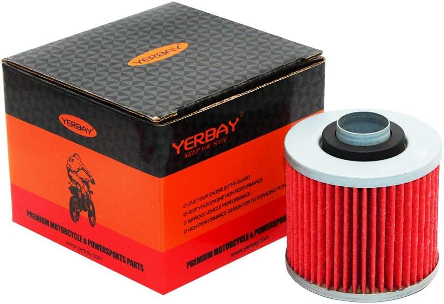 XT660 2008 XT600 1983-1995 Filtro olio per moto Yamaha XT550 1982-1983 Yerbay