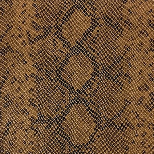York - Snake Skin Pattern Embossed Vinyl Upholstery Fabric by The Yard - Available in 5 ()