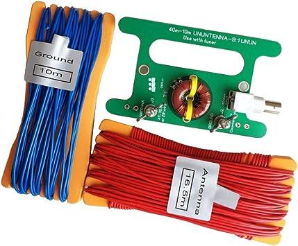 FLAMEER UnUnenna Antena de Cable Compacta Portátil para Uso en Jardín o SOTA: Amazon.es: Electrónica
