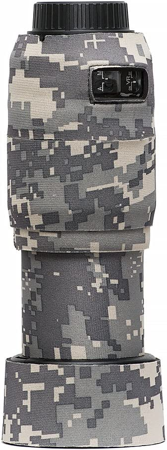 LensCoat Lens Cover for Nikon AF-S 55-300 mm f/4-5.6G ED VR (Digital Camo)