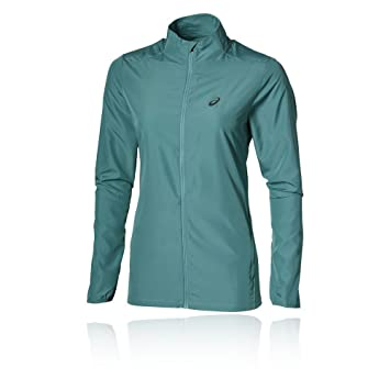 asics essentials women's running jacket