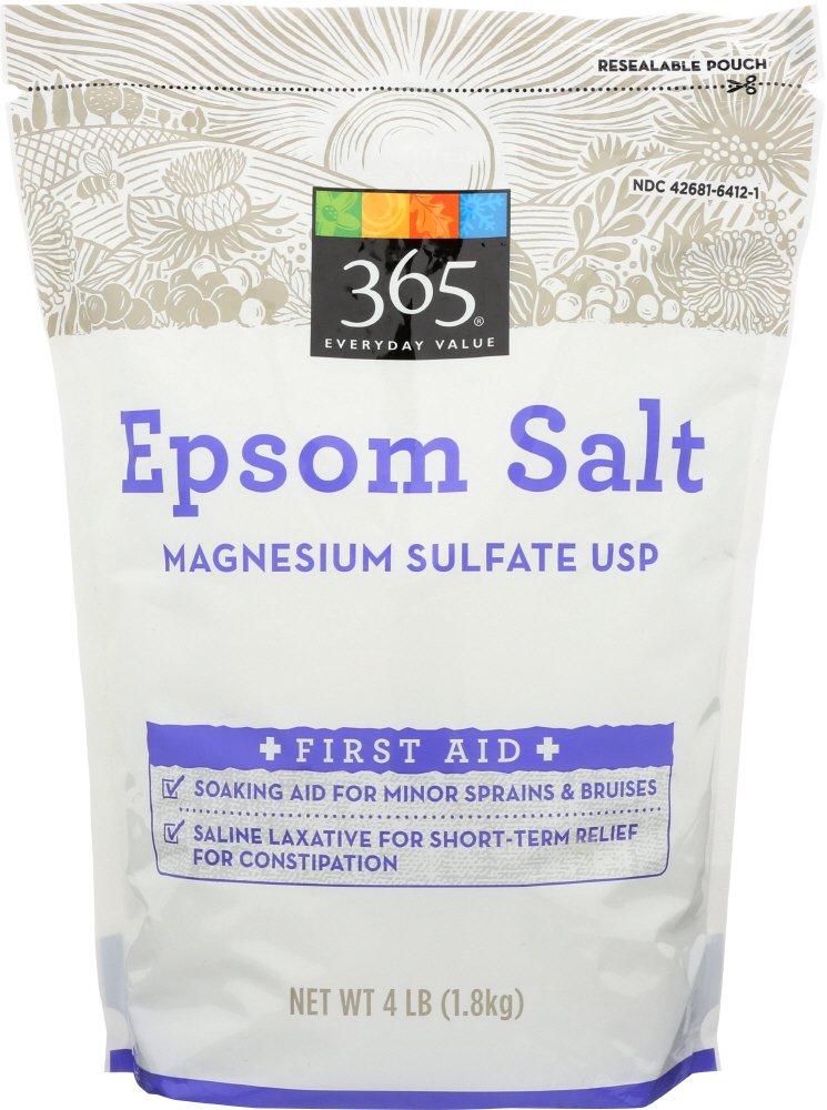 365 Everyday Value, Epsom Salt, 4 lbs