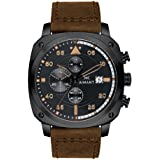 AIMANT Dakar Cronograph Watches | 45 MM Men's Analog Watch | Leather